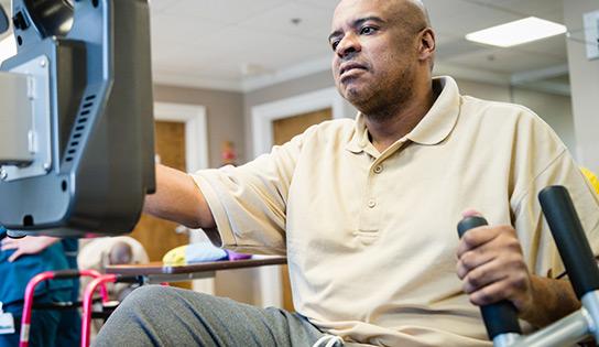 A man in need of short term nursing care in Nashville, TN